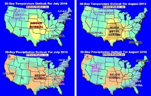 U.S. Weather Footprints Leave Hope For Summer Crops